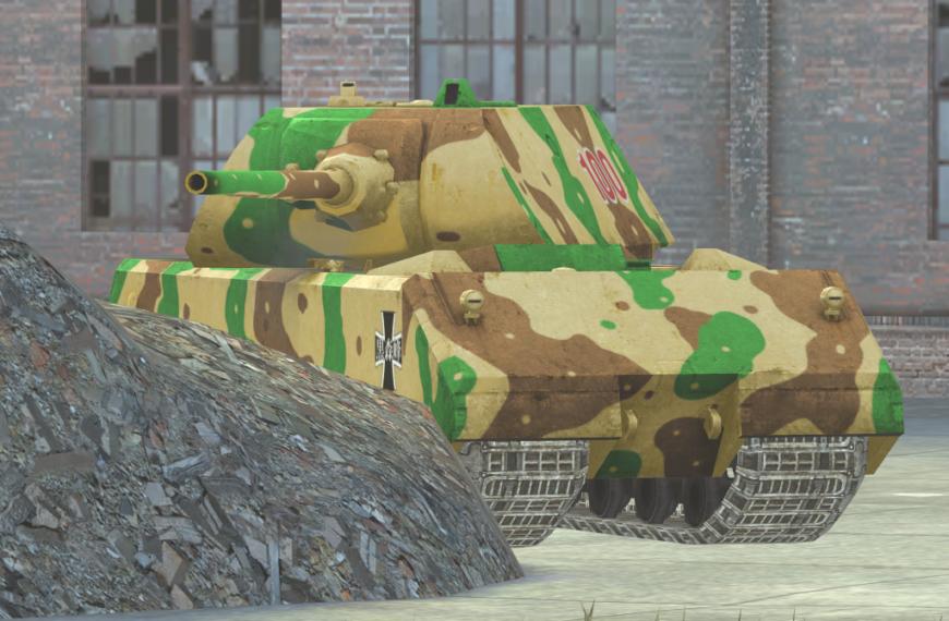 Girls und Panzer [Maus]